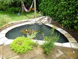 Pond Refurbishment Newton Longville April 2014