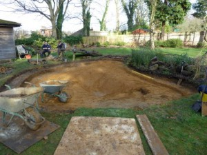Example of Pond Refurbishment