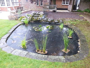 Pond Cleaning Redbourne - after