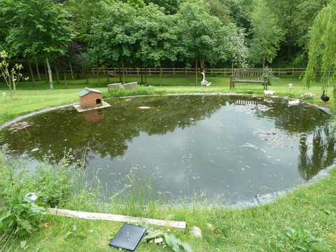 Pond Refurbishment Examples Women With Waders